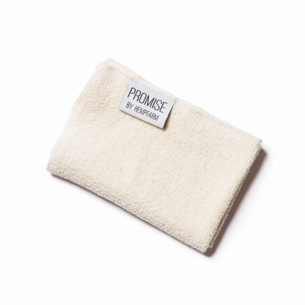 Promise Organic Hemp Fibre & Cotton Facecloths
